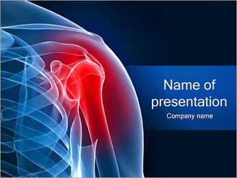 Painful Shoulder PowerPoint Template