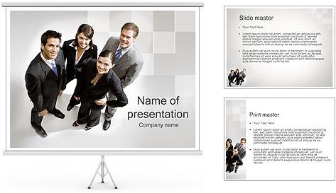 Шаблон для деловой презентации powerpoint