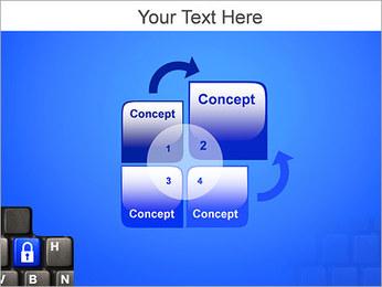 Security Key PowerPoint Template - Slide 5