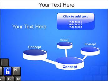 Security Key PowerPoint Template - Slide 9