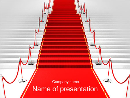 3D Stair PowerPoint Template, Backgrounds & Google Slides - ID ...