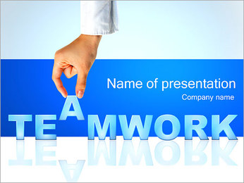 Teamwork - Business PowerPoint Template