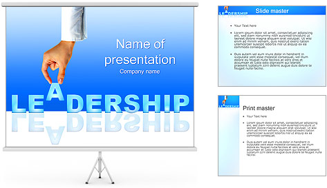 leadership powerpoint template. free leadership powerpoint, Powerpoint