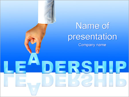 leadership powerpoint template & backgrounds id 0000002113, Modern powerpoint