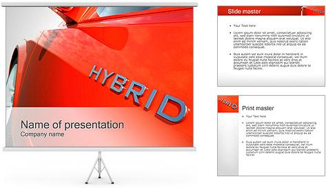 Hybrid Car PowerPoint Template
