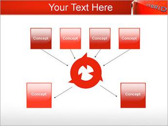 Voiture hybride Modèles des présentations  PowerPoint - Diapositives 10