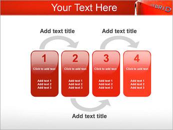 Hybrid Car PowerPoint Template - Slide 11