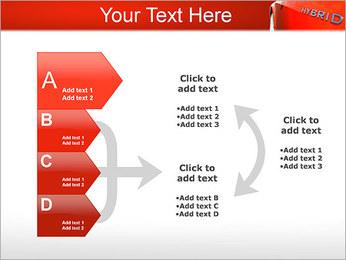 Voiture hybride Modèles des présentations  PowerPoint - Diapositives 16