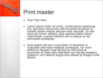 Voiture hybride Modèles des présentations  PowerPoint - Diapositives 24