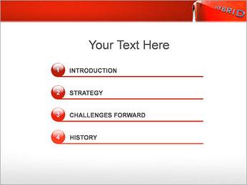 Hybrid Car PowerPoint Template - Slide 3