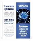 Human Brain Flyer Template