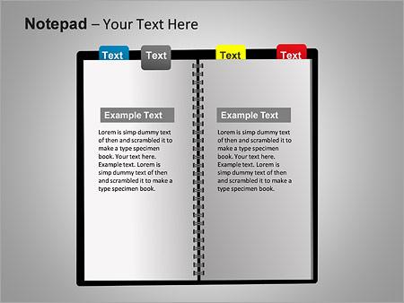 Блокнот Схемы и диаграммы для PowerPoint - Слайд 10