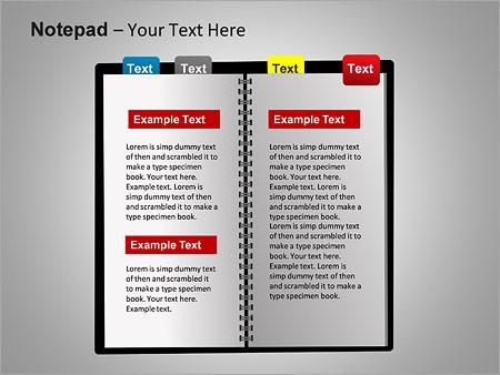 Блокнот Схемы и диаграммы для PowerPoint - Слайд 13