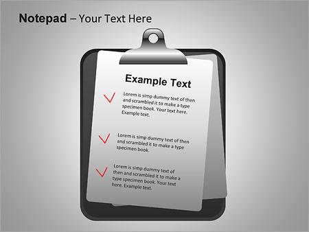Блокнот Схемы и диаграммы для PowerPoint - Слайд 16