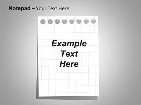Блокнот Схемы и диаграммы для PowerPoint - Слайд 17