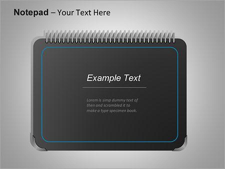 Блокнот Схемы и диаграммы для PowerPoint - Слайд 2