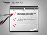 Блокнот Схемы и диаграммы для PowerPoint - Слайд 1