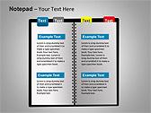 Блокнот Схемы и диаграммы для PowerPoint - Слайд 11