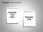 Блокнот Схемы и диаграммы для PowerPoint - Слайд 18