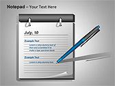 Блокнот Схемы и диаграммы для PowerPoint - Слайд 4