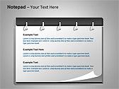 Блокнот Схемы и диаграммы для PowerPoint - Слайд 6