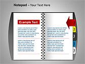 Блокнот Схемы и диаграммы для PowerPoint - Слайд 8
