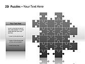 2D - Пазлы Схемы и диаграммы для PowerPoint - Слайд 11