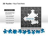 2D - Пазлы Схемы и диаграммы для PowerPoint - Слайд 12