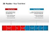 2D - Пазлы Схемы и диаграммы для PowerPoint - Слайд 15