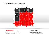 2D - Пазлы Схемы и диаграммы для PowerPoint - Слайд 8