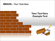 Bricks PPT Diagrams & Chart