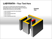 Labyrinth PPT Diagrams & Chart