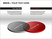 Discs PPT Diagrams & Charts
