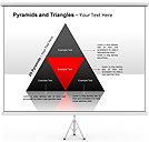 2D-Pyramids PPT Diagrams & Chart
