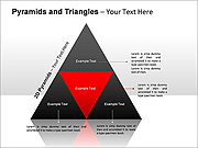 2D-Pyramids PPT Diagrams & Charts