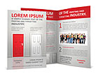 Red Door Brochure Templates