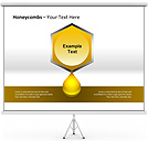 Honeycombs PPT Diagrams & Chart