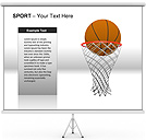 Sport PPT Diagrams & Chart