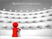Speaker and Audience PowerPoint Templates