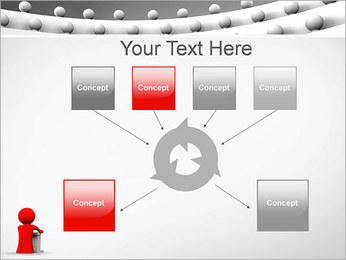 Palestrante e Audiência Modelos de apresentações PowerPoint - Slide 10