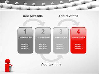 Palestrante e Audiência Modelos de apresentações PowerPoint - Slide 11