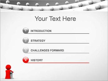 Palestrante e Audiência Modelos de apresentações PowerPoint - Slide 3
