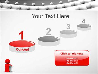 Palestrante e Audiência Modelos de apresentações PowerPoint - Slide 7