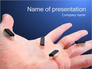 Фишки на руке Шаблоны презентаций PowerPoint