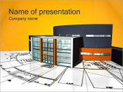 Modern House Plan PowerPoint Templates