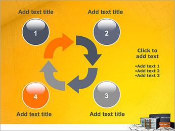 Plano de casa moderna Modelos de apresentações PowerPoint - Slide 14