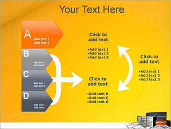 Plano de casa moderna Modelos de apresentações PowerPoint - Slide 16