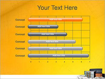 Plano de casa moderna Modelos de apresentações PowerPoint - Slide 17