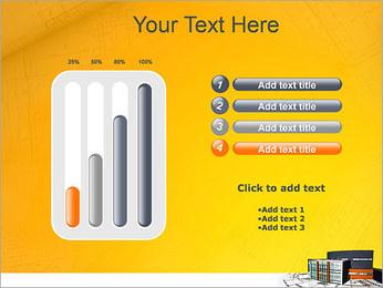 Plano de casa moderna Modelos de apresentações PowerPoint - Slide 18