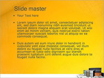 Plano de casa moderna Modelos de apresentações PowerPoint - Slide 2